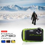 FinePix XP90 : Le nouveau compact tout-terrain de Fujifilm