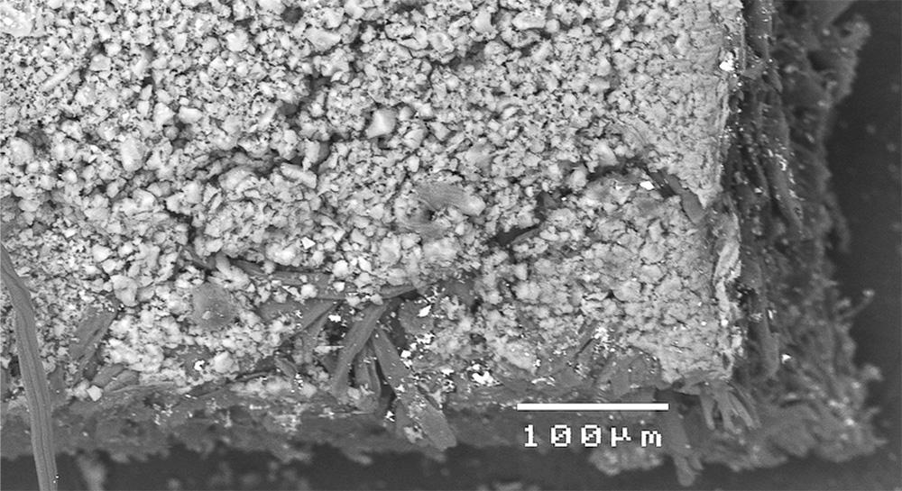 Papier au microscope